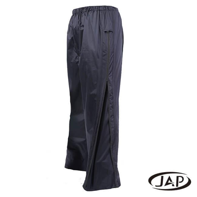 JAP 3D側開立體雨褲-黑色 YW-R116