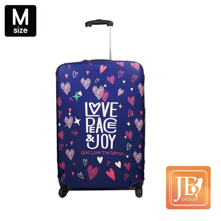 LittleChili行李箱套JB3-Love the world -M