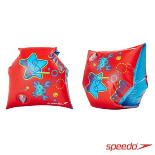 SPEEDO 兒童浮臂 臂圈 充氣式  紅 SD806946B408