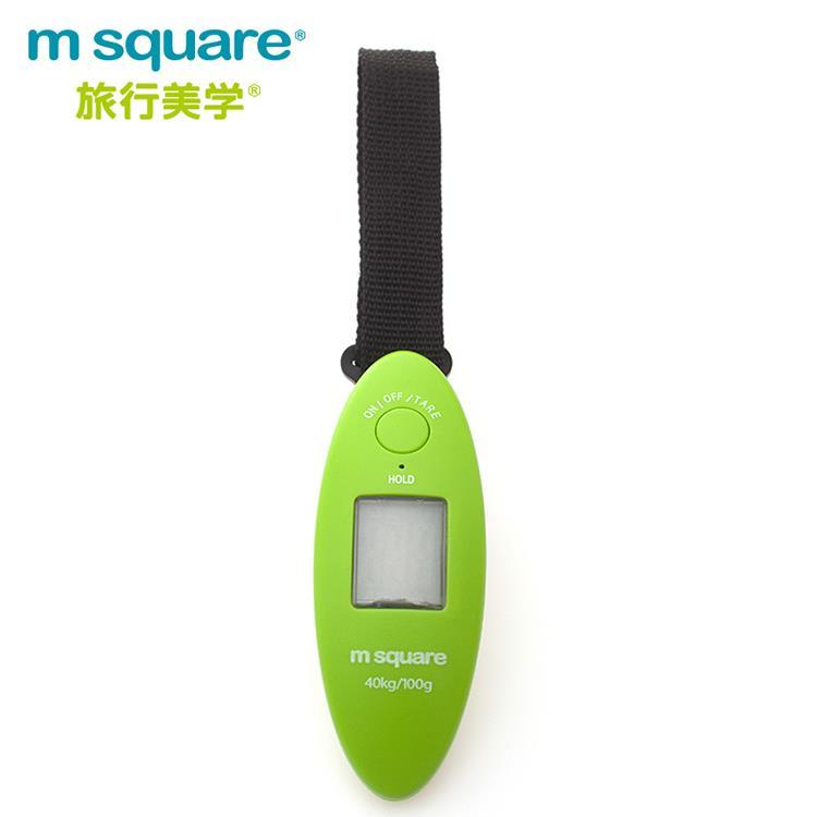 m square隨身電子秤-綠色