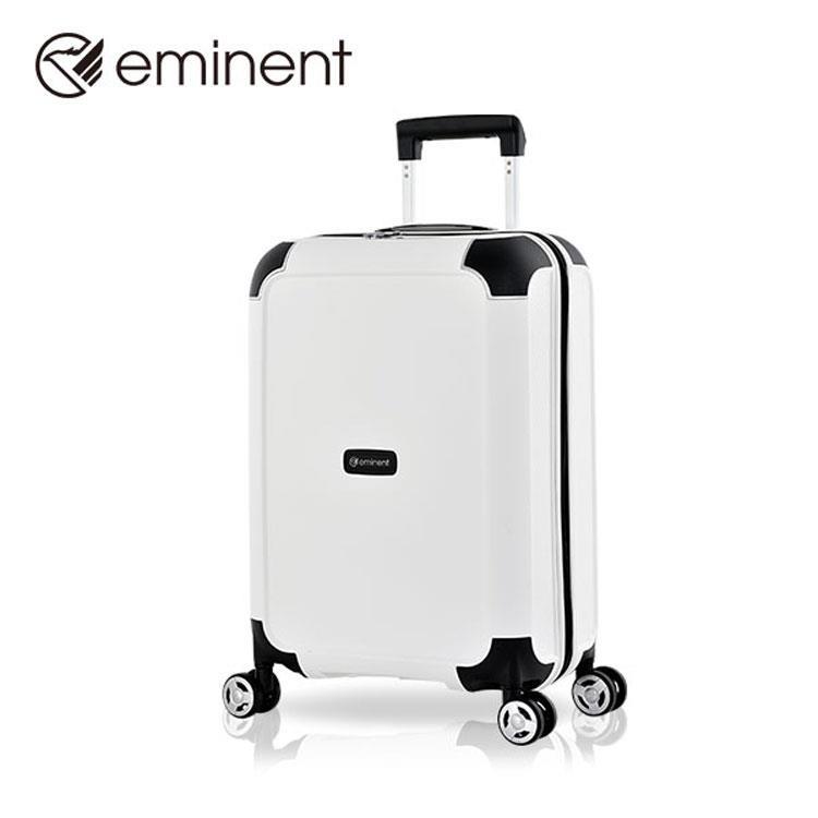 【EMINENT萬國】雷蒙德系列-極簡風格設計超輕量PP材質旅行箱 行李箱-20吋