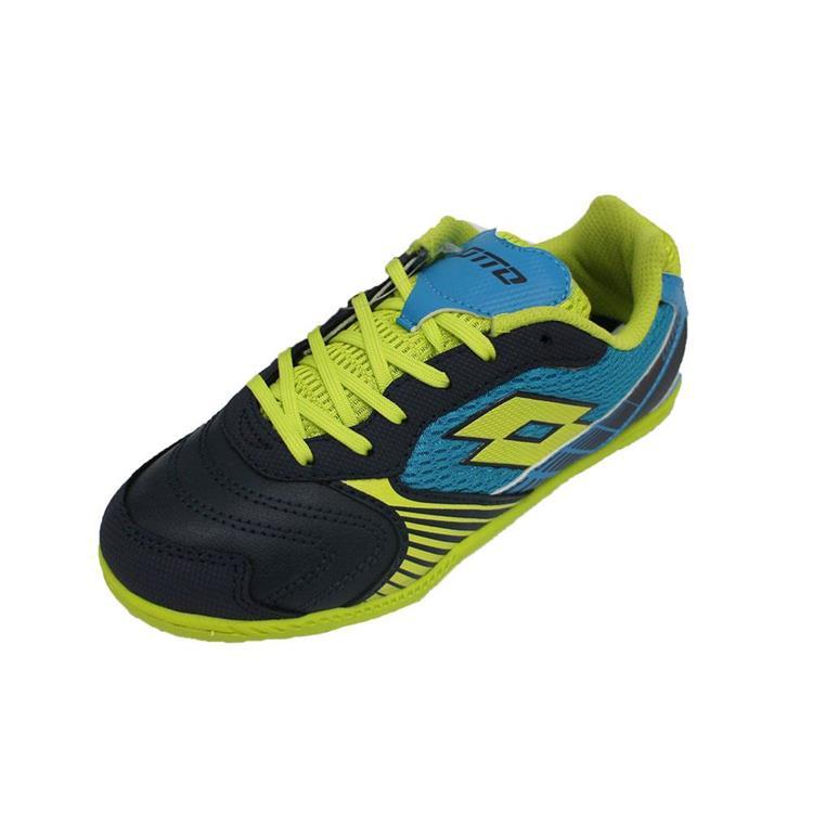 LOTTO兒童足球鞋/義大利進口 -LTS4033藍黃