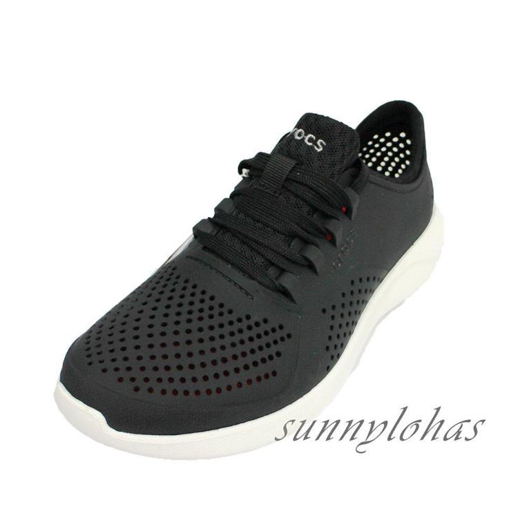 (A2)CROCS卡駱馳 (女) LiteRide布希鞋 拖鞋 雨鞋 涼鞋205234-001