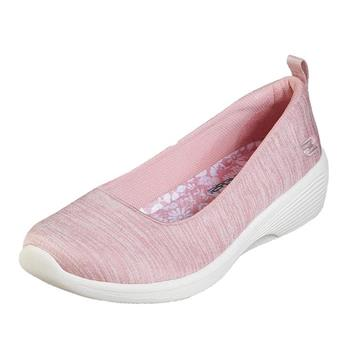 (A3)Skechers女鞋 休閒鞋 輕量舒適 懶人鞋 套入式 粉紅 米白-23752PNK