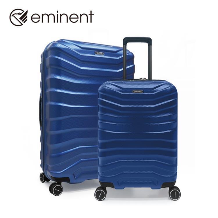 【EMINENT萬國】尊爵世紀-獨創TPO輕量化耐衝擊環保材質拉鍊旅行箱 行李箱-24吋