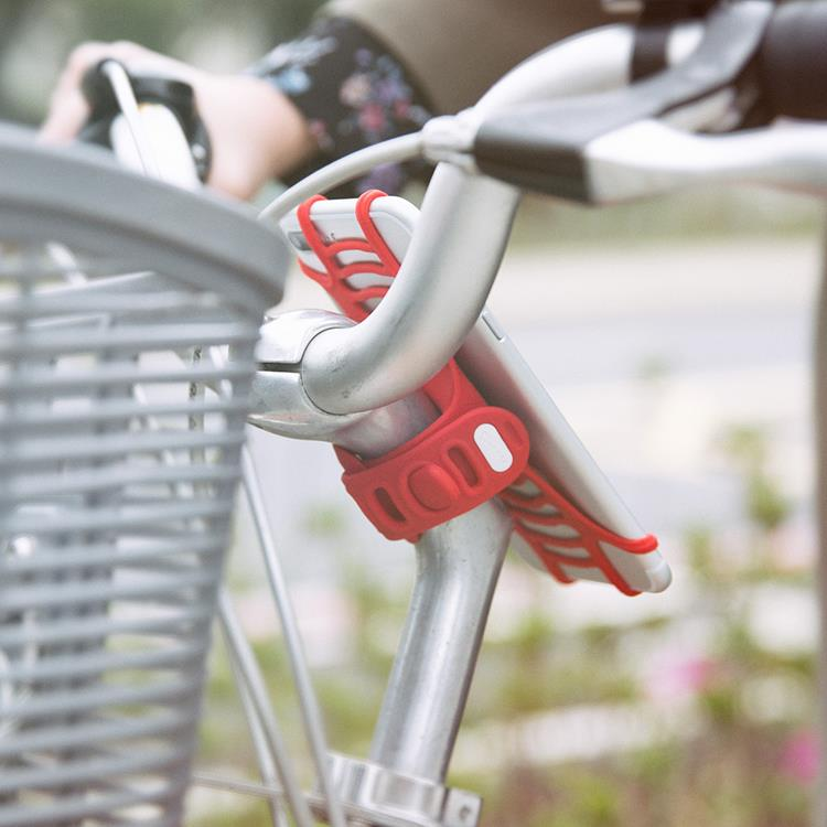 【Bone】單車手機龍頭綁 Bike Tie Pro -紅