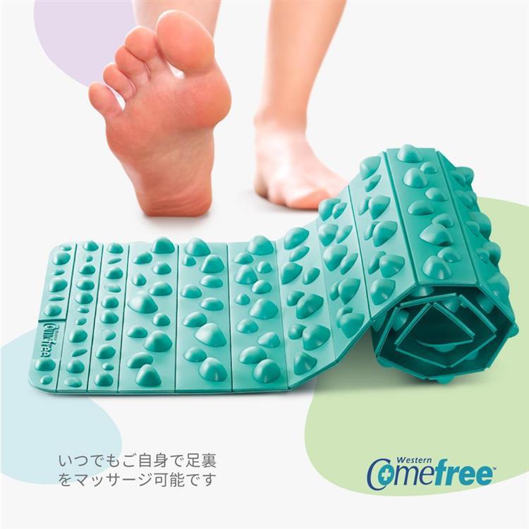Comefree可捲式居家健康步道踏墊(2色)