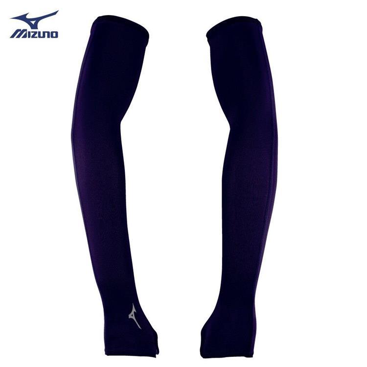 MIZUNO 美津濃 半掌式袖套 涼感 防曬 騎車必備 抗紫外線 彈性 台灣製 32TY8G0209
