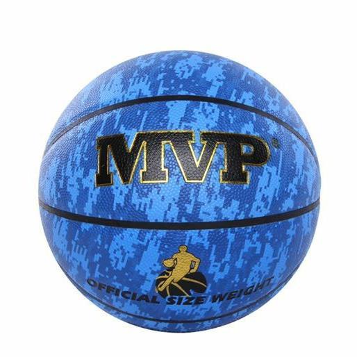 MVP籃球 合成皮籃球 7號球 室內球 室外球 成人籃球 高質感  基本藍