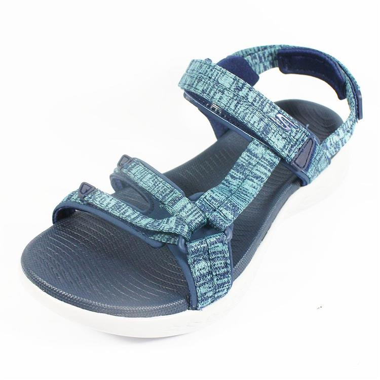 (A6) SKECHERS 涼鞋 On The Go 600 藍 15314NVBL 陽光樂活