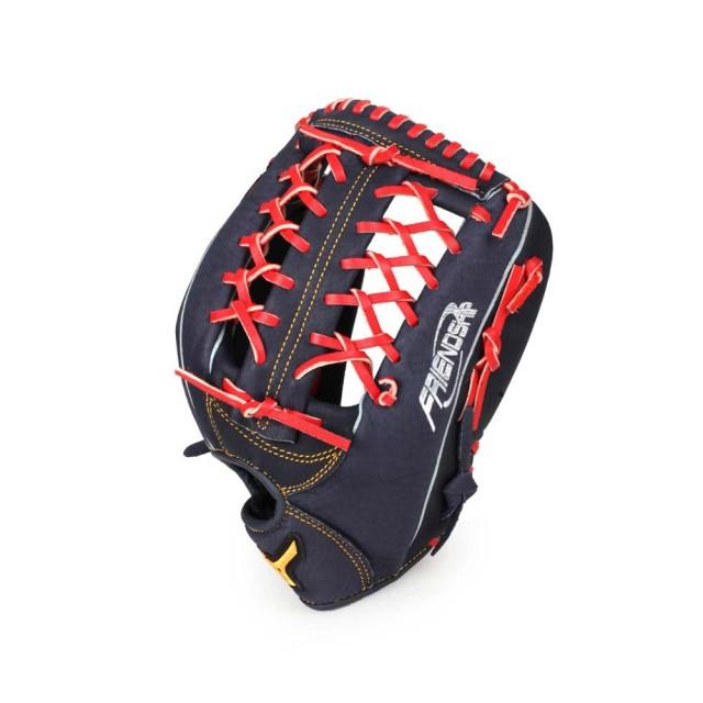 (A7) 美津濃MIZUNO 壘球手套 外野手 棒球 壘球 右投 丈青紅 1ATGS90960-29