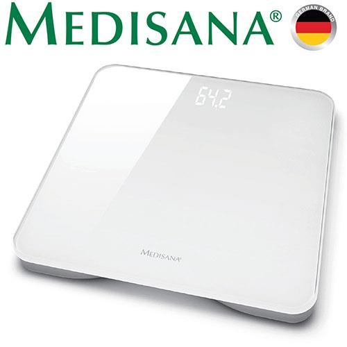 德國Medisana極簡玻璃體重計(時尚白)