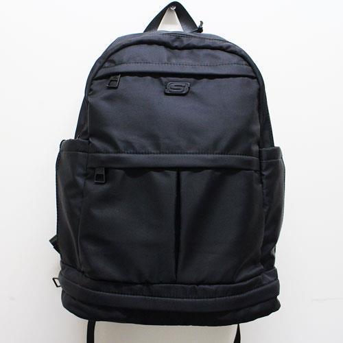 (A8) SKECHERS 雙層後背包 筆電包 - S80706 黑