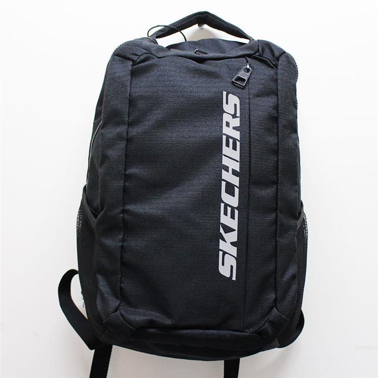 (A9) SKECHERS 雙層後背包 筆電包 - S81306 黑