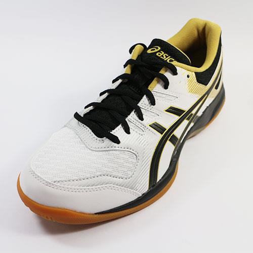 (A9) ASICS 男 排羽球鞋 GEL-ROCKET 9 - 1071A030-100 白x黑
