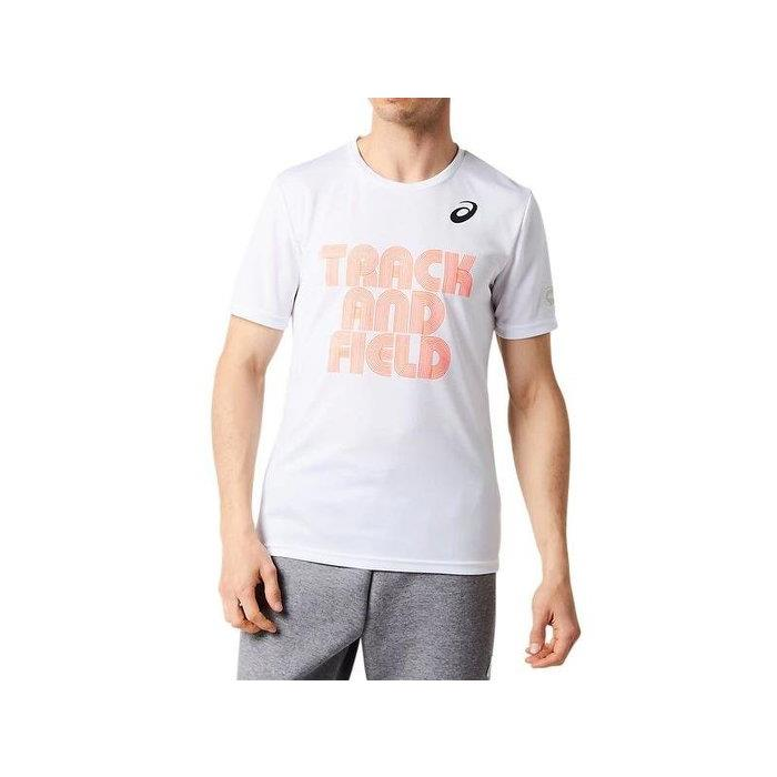 (AX)ASICS 亞瑟士 男 短袖運動上衣 慢跑路跑 排汗T恤 2093A024-100