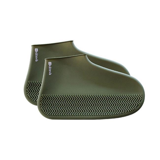 矽膠防水鞋套 M號 附收納袋 雨鞋套 防水鞋套 防滑鞋套 KATEVA