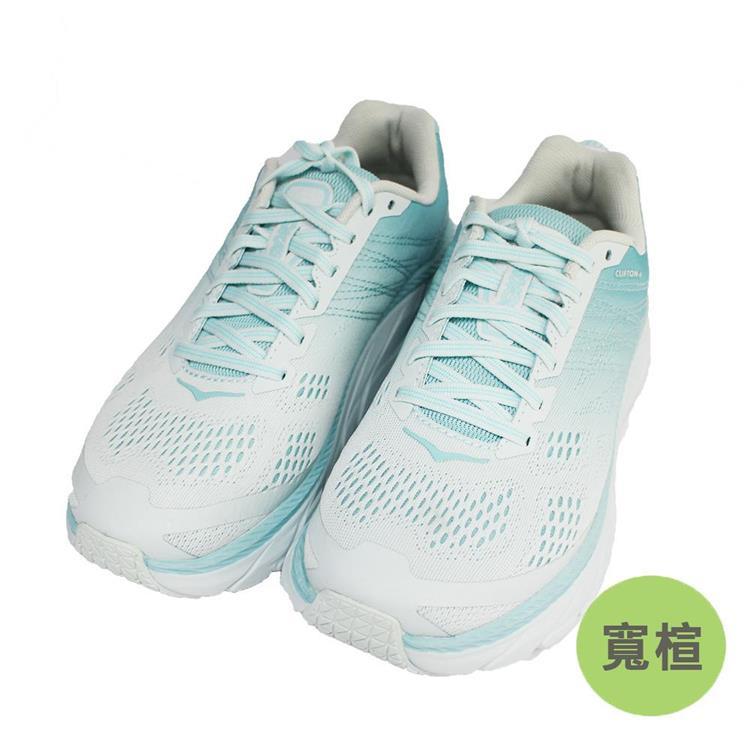 Hoka One One 女 Clifton 6 超緩震慢跑鞋 寬楦HO1102877ASWB島沙藍