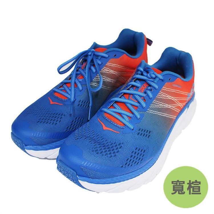 Hoka One One 男 Clifton 6 超緩震慢跑鞋 寬楦 HO1102876MRIB 藍