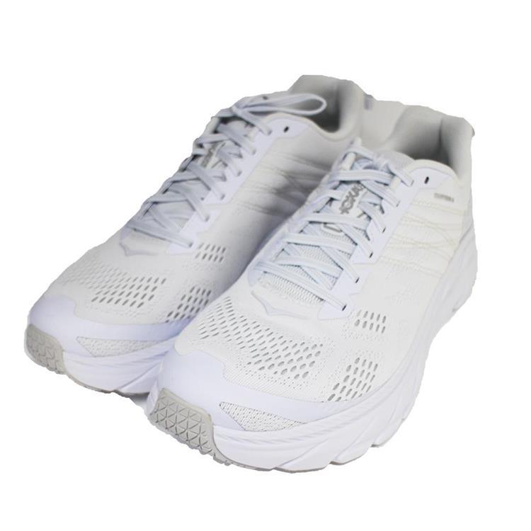 Hoka One One 男 Clifton 6 超緩震慢跑鞋 路跑鞋HO1102872BWWH 白