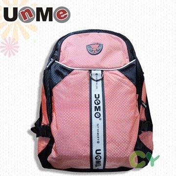 【UnMe】菱狀戶外休閒後背包(粉紅色)