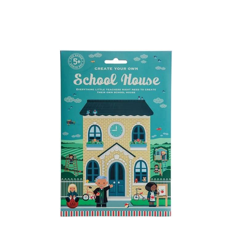 英國Clockwork Solider發條小士兵手作玩具--小劇場系列之我的學校