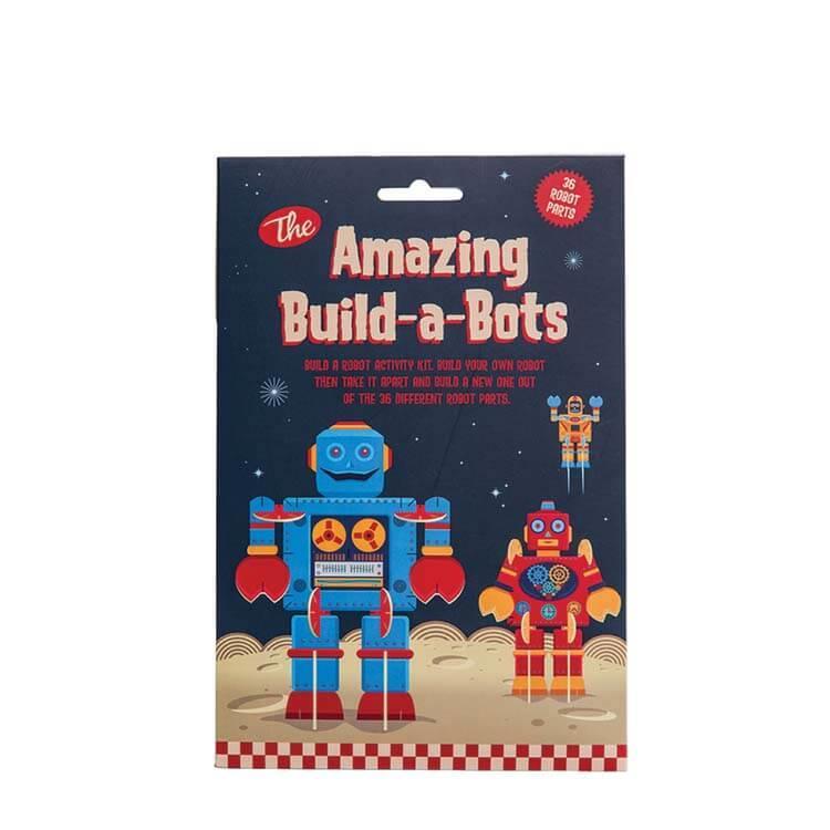 英國Clockwork Solider發條小士兵手作玩具--拼拼拼機器人