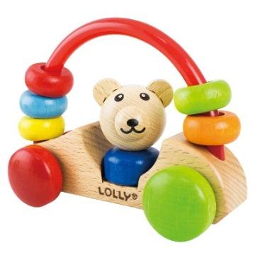 LOLLY木製玩具-小熊號快樂車