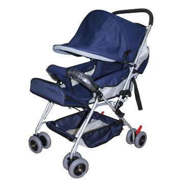優生全罩式抗UV嬰幼兒推車889-藍
