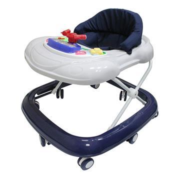 優生汽車音樂嬰幼兒學步車-藍