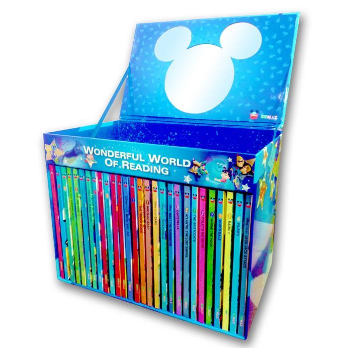 迪士尼經典卡通英文故事書28書 + 28CD(精裝)