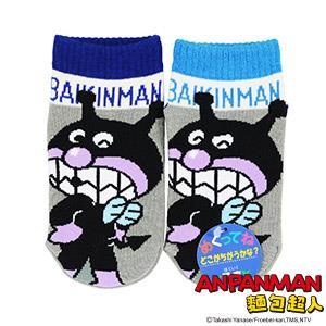 細菌人雙色童襪