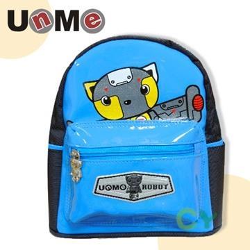 【UnMe機器人】學齡前防走失小背包/藍色