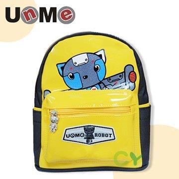 【UnMe機器人】學齡前防走失小背包/黃色