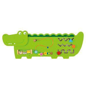 超可愛鱷魚多功能學習玩具