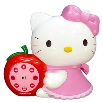 台灣製造HELLO KITTY 凱蒂貓幼兒啟蒙教育故事機優惠組(粉紅)