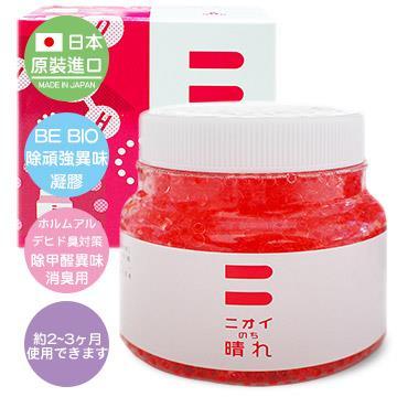 日本原裝 BE BIO除頑強異味凝膠-甲醛分解150g