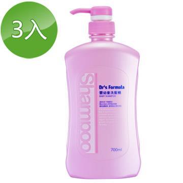 《台塑生醫》Dr's Formula嬰幼童洗髮精700ml(3入)