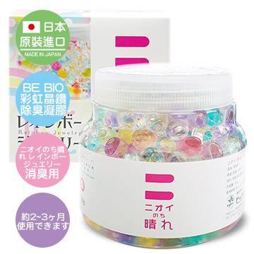 日本原裝 BE BIO彩虹晶鑽除臭凝膠150g