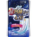 【蘇菲】彈力貼身超熟睡(42CM)(10片 x 3包/組)
