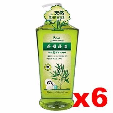 花仙子 茶樹莊園超濃縮洗碗精(1000ml/6入)