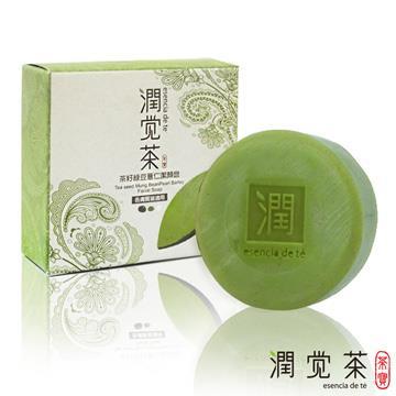 【茶寶 潤覺茶】茶籽綠豆薏仁潔顏皂