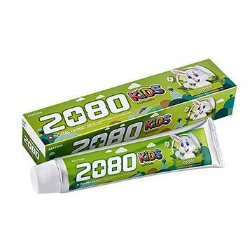 【韓國2080】強齒健齦兒童牙膏-蘋果(80gX3入)
