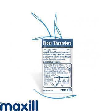 【加拿大美適Maxill】牙橋穿引線小圈硬線(5入X4包)