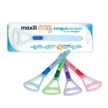 【加拿大美適Maxill】法式刮舌器(4入)