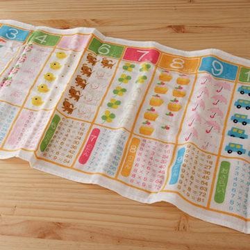 taoru 日本毛巾 風呂學校_數學小學堂 34**84 cm