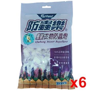 防蟲樂衣物防蟲劑散裝-薰衣草 360g  x6/組