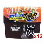 去味大師 備長炭消臭易-冰箱專用(150g) x12