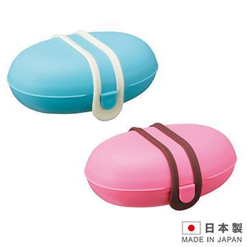 日本製造 MARNA攜帶式肥皂盒肥皂架(紅/藍 二色)MAR-W445
