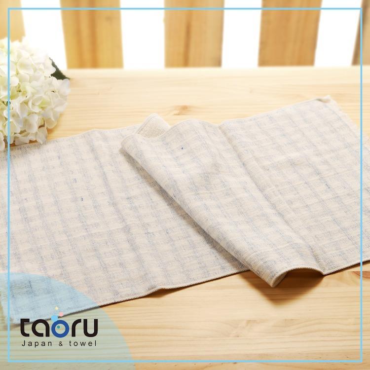 taoru【日本今治毛巾/ 家用長毛巾】彩虹格格_藍色
